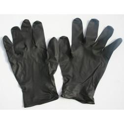 Black lightning gloves pair